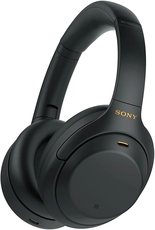Casque audio sans fil Sony WH-1000XM4 - Bluetooth, Noir