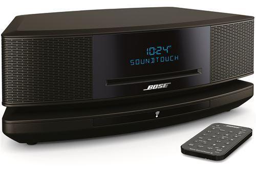 Chaîne HiFi compacte Bose Wave Music System Soundtouch IV (Noir) + Socle Bose SoundTouch (Noir)