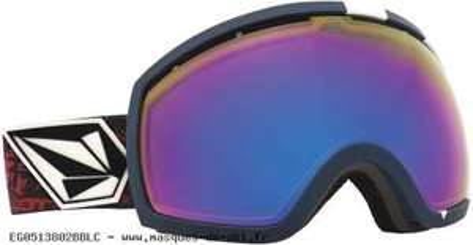 Masque de Ski Snowboard Electric Bronze Blue Chrome; Modèle EG2 V. CO-LAB