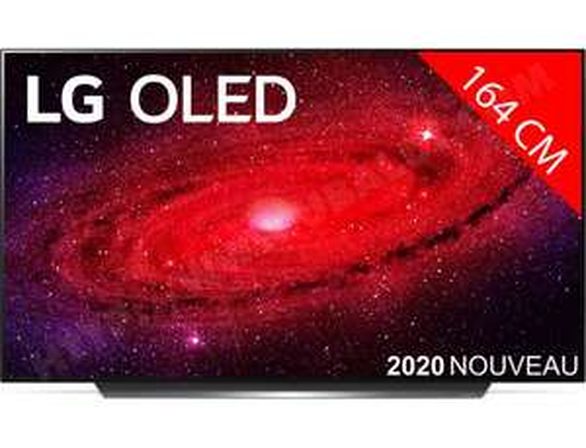 "TV 65"" LG OLED65CX6 (4K UHD, OLED, Smart TV) + enceinte sans-fil Sonos One"