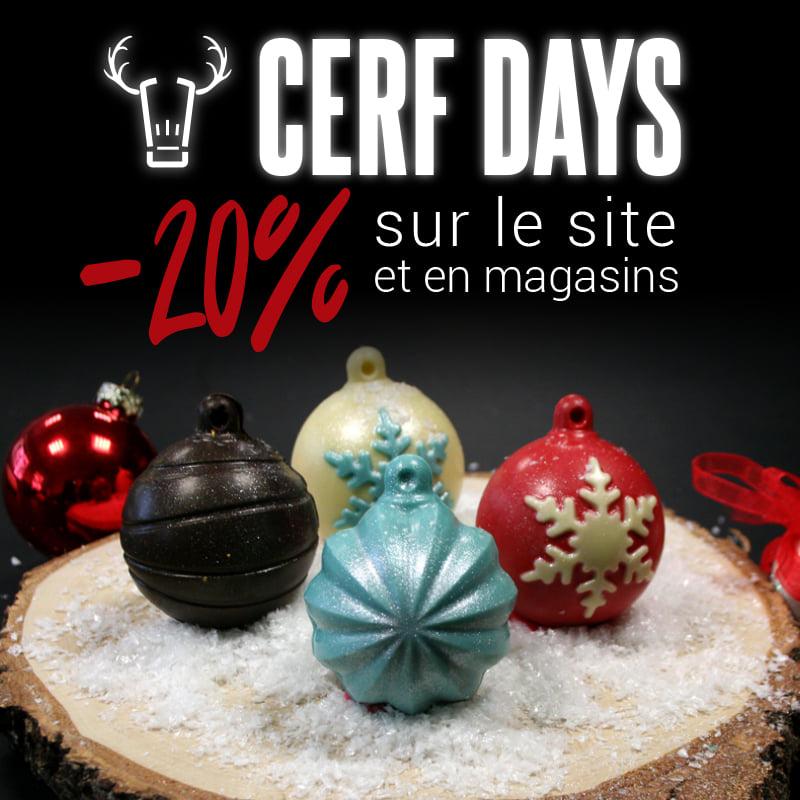 20% de réduction sur tout le site & en magasin - cerfdellier.com