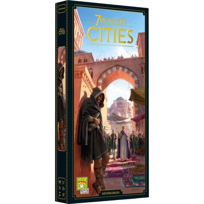 Extension Cités pour le jeu de société 7 Wonders (2020)