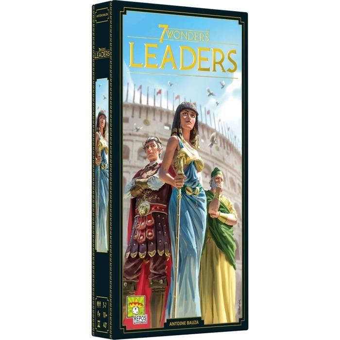 Extension Leaders pour le jeu de société 7 Wonders (2020)