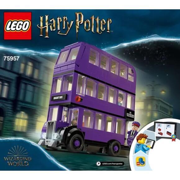 Lego Harry Potter 75957 : Le Magicobus Bus Violet à 3 Niveaux