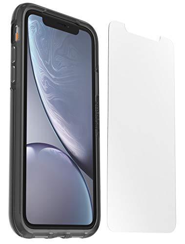 Pack OtterBox coque antichoc + verre trempé pour iPhone XR - Coloris noir ou transparent