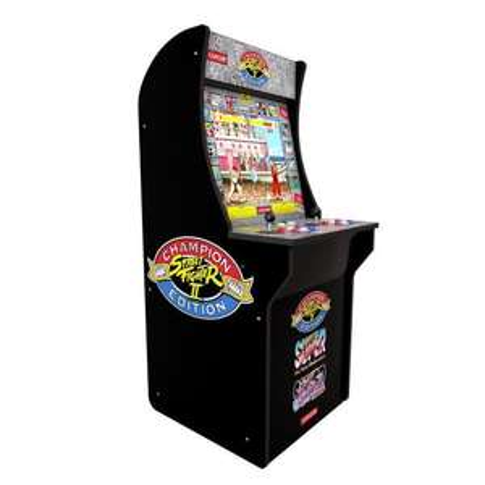 Borne de jeu d'Arcade Street Fighter II Arcade 1 UP (+11,45€ à cagnotter pour les CDAV)