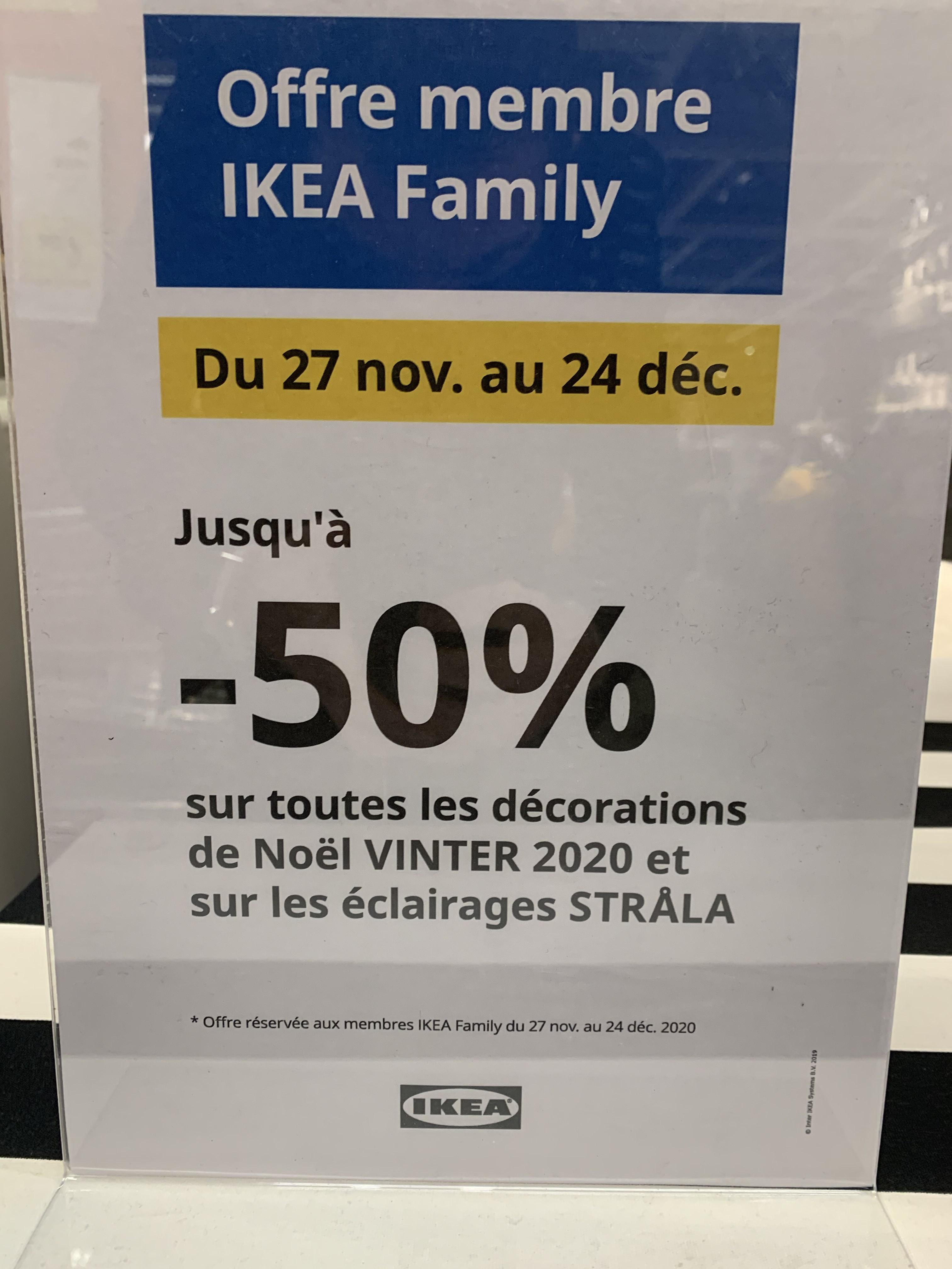 Jusqu'à 50% sur les décorations de Noël - Rennes (35)
