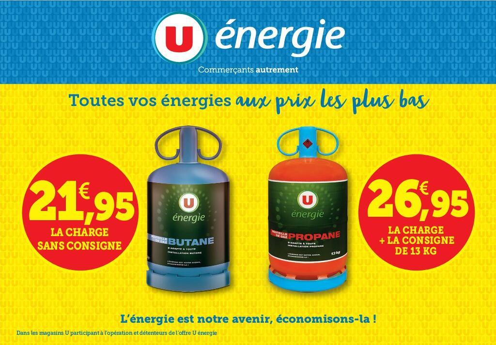 Bouteille de gaz Butane ou Propane