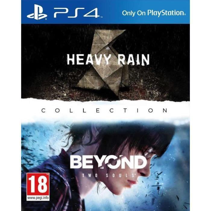 Jeu Heavy Rain + Beyond Collection sur PS4