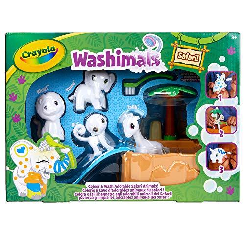 Crayola - Color'N'Wash - Mes Animaux à Colorier - Kit Safari