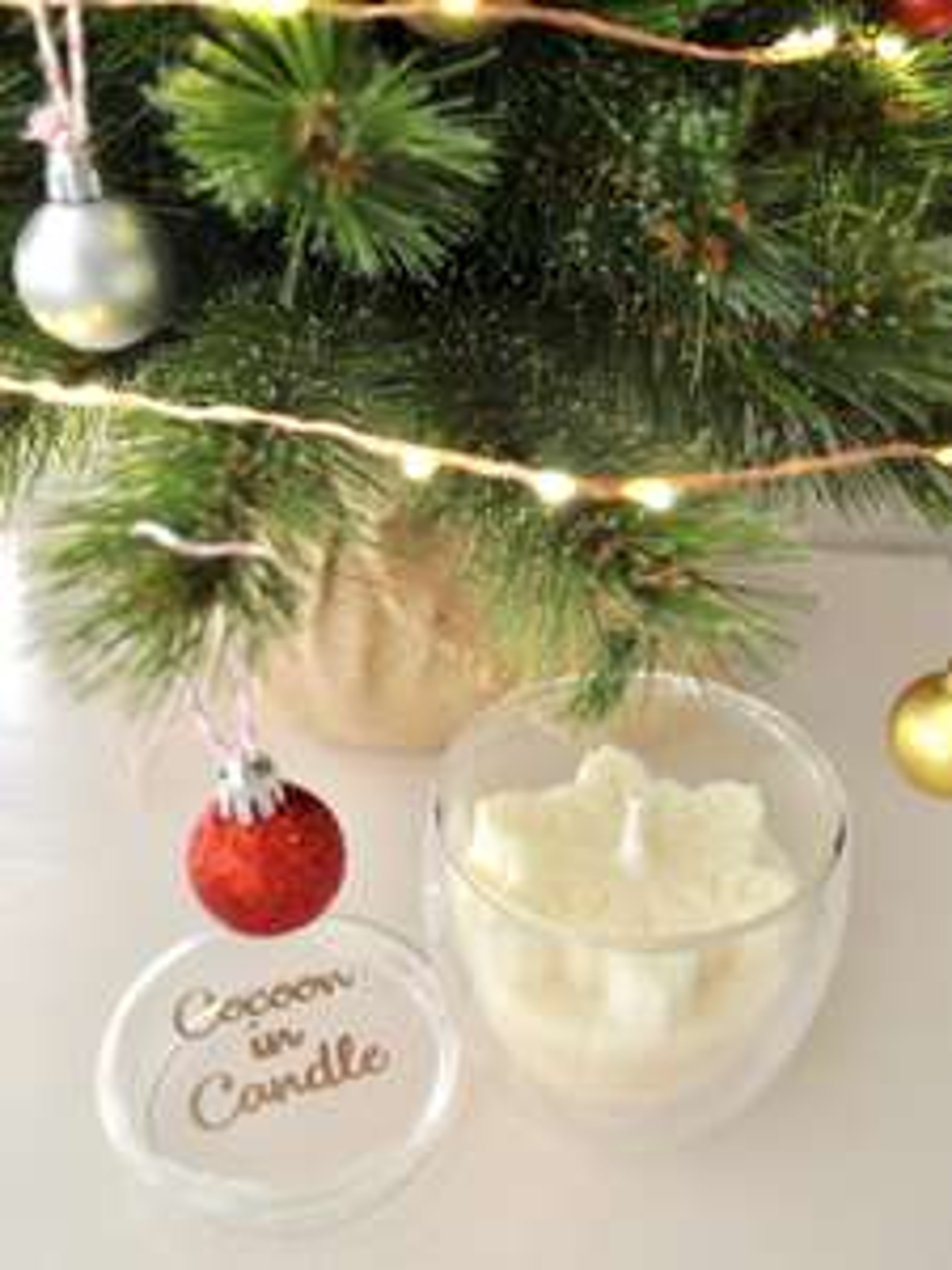 Sélection d'articles en promotion - Ex : bougie parfumée Fleur de Coton (160 g) - CocooninCandle.com