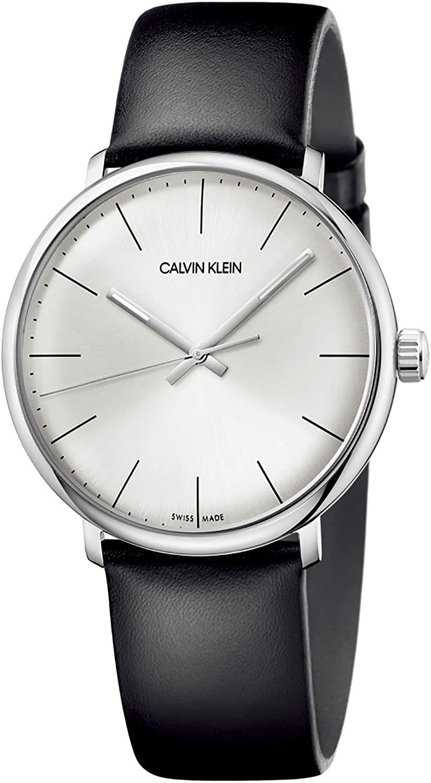 Calvin Klein Quartz Montre avec Bracelet en Cuir K8M211C6 (Vendeur tiers)
