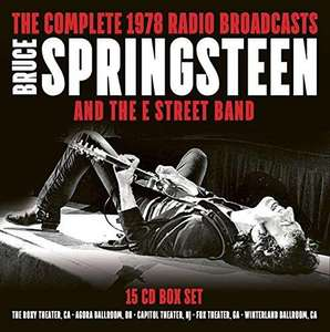 Coffret 15 CD : Bruce Springsteen Complete 1978 Radio Broadcast