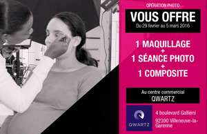 Maquillage + Shooting Photo Gratuit