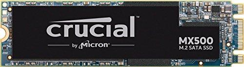 image produit SSD Crucial MX500 CT250MX500SSD4 - 250Go (3D NAND, SATA, M.2 Type 2280SS)