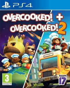 Overcooked! + Overcooked! 2 sur PS4