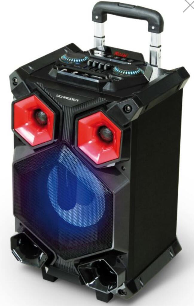 Enceinte Portable Amplifiée Avec Batterie Schneider - 200w - Bluetooth