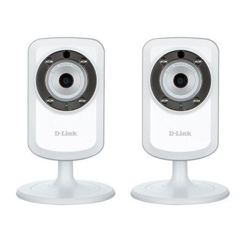 Lot de 2 Cameras IP WiFi N jour/nuit D-Link DCS-933L
