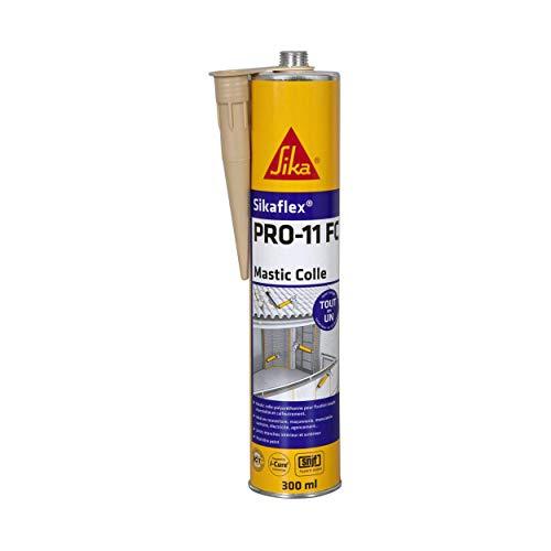 Cartouche de colle / mastic Sikaflex Pro 11 FC - Beige, 300 ml