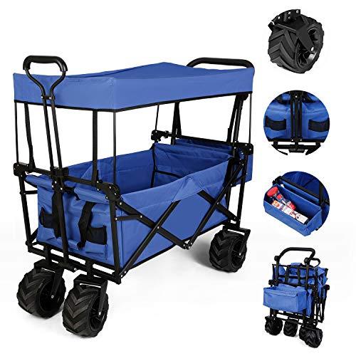 Chariot pliable avec toit (Vendeur Tiers)