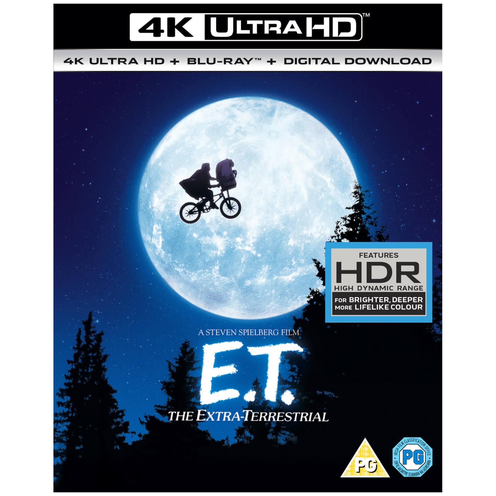 Blu-ray 4K UHD + Blu-ray + Copie digitale - ET