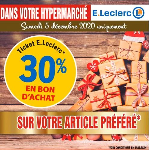 30% en bon d'achat sur votre article préféré - Niort (79)