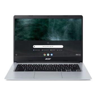 "PC Portable 14"" Acer ChromeBook CB314-1HT-P8NS - Full HD, Pentium Silver N5030, RAM 4 Go, 32 Go Stockage eMMC, Chrome OS"