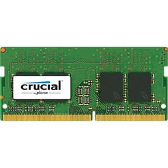 Barette Memoire DDR4 SODIMM Crucial - 8GBo / 2400