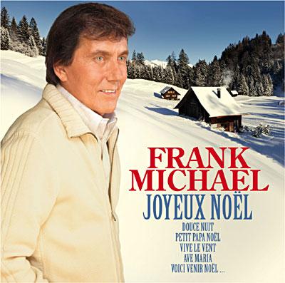 Album CD Joyeux Noël de Frank Michael