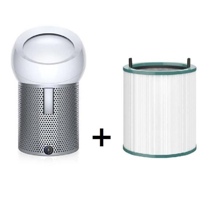 Ventilateur et purificateur d'air Dyson Pure Cool Me + Filtre de rechange