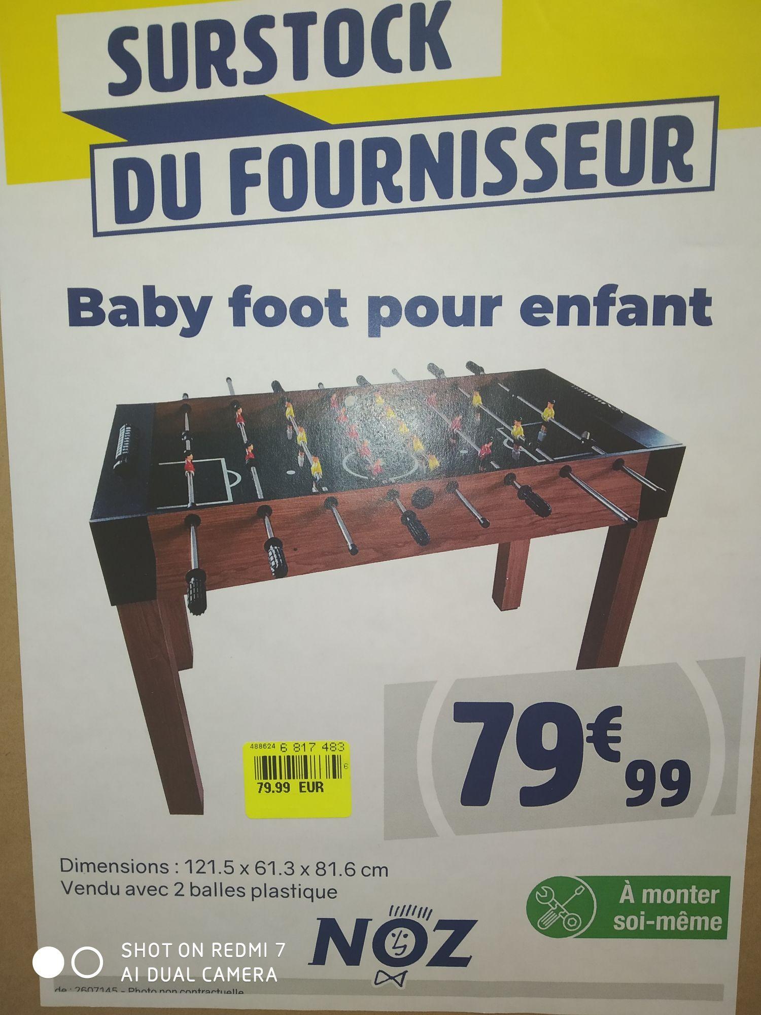 Baby Foot pour enfant - Colombiers (34)