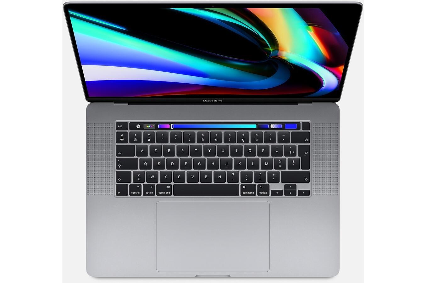 "PC Portable 16"" Apple MacBook Pro - Touchbar, 16 Go RAM, SSD 512 Go, Radeon Pro 5300M 4 Go, Gris Sidéral"