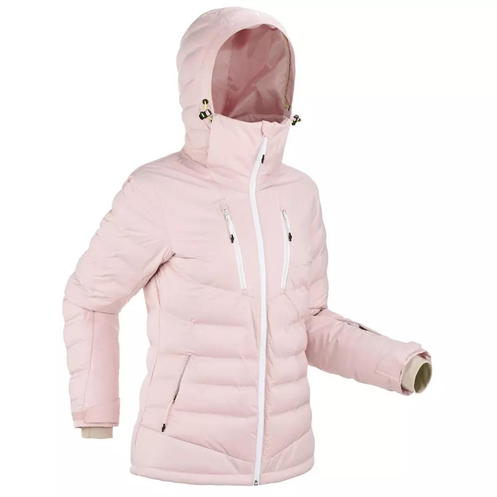 Veste de Ski femme 900 Warm Rose - 75% duvet/ 25% plumes et ouate sur les épaules