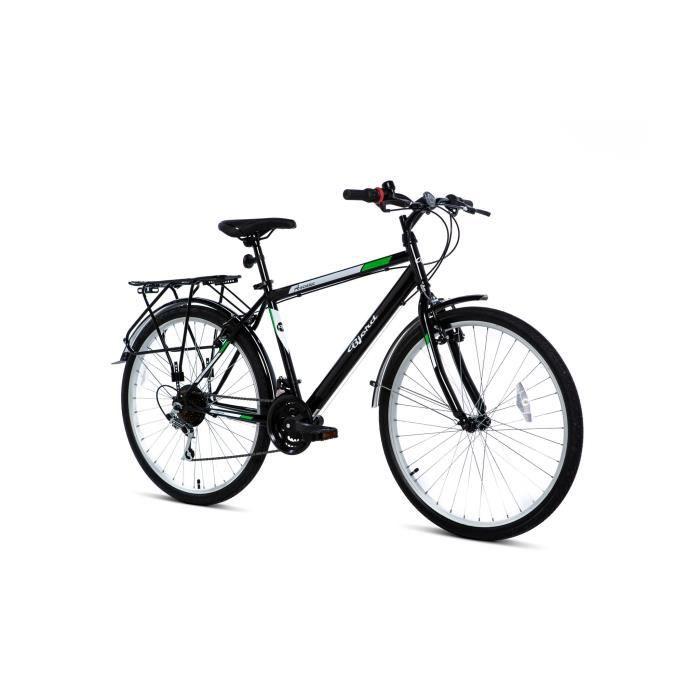"Vélo City Trekking 26"" Moma bikes - 21 V, Freins V-Brake, Jantes alu (vendeur tiers)"