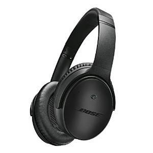 Casque à Réduction de Bruit Bose QuietComfort 25 pour une sélection d'appareils Apple - Édition Spéciale Triple Black