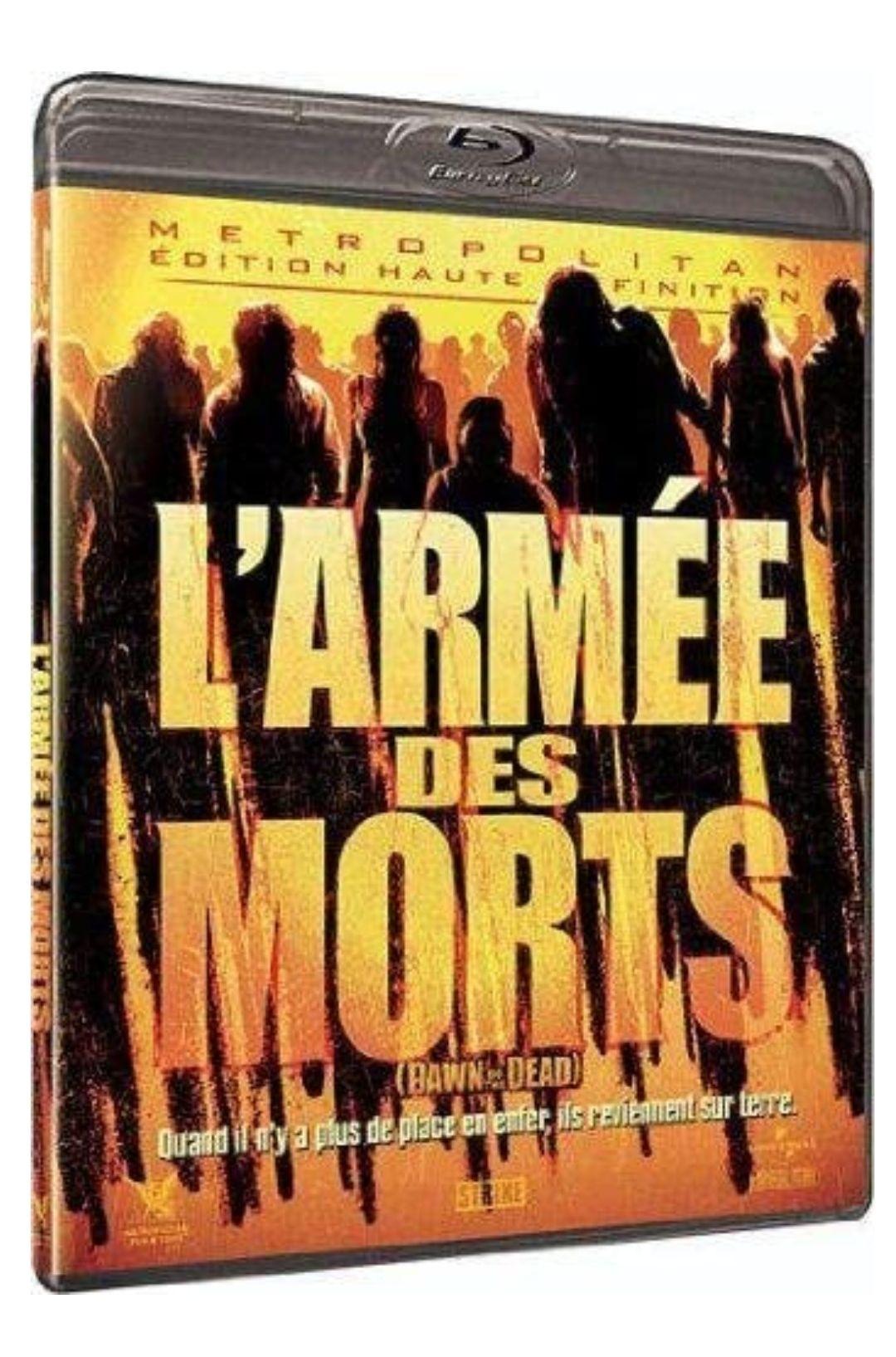 BluRay L'Armée Des Morts Director's Cut