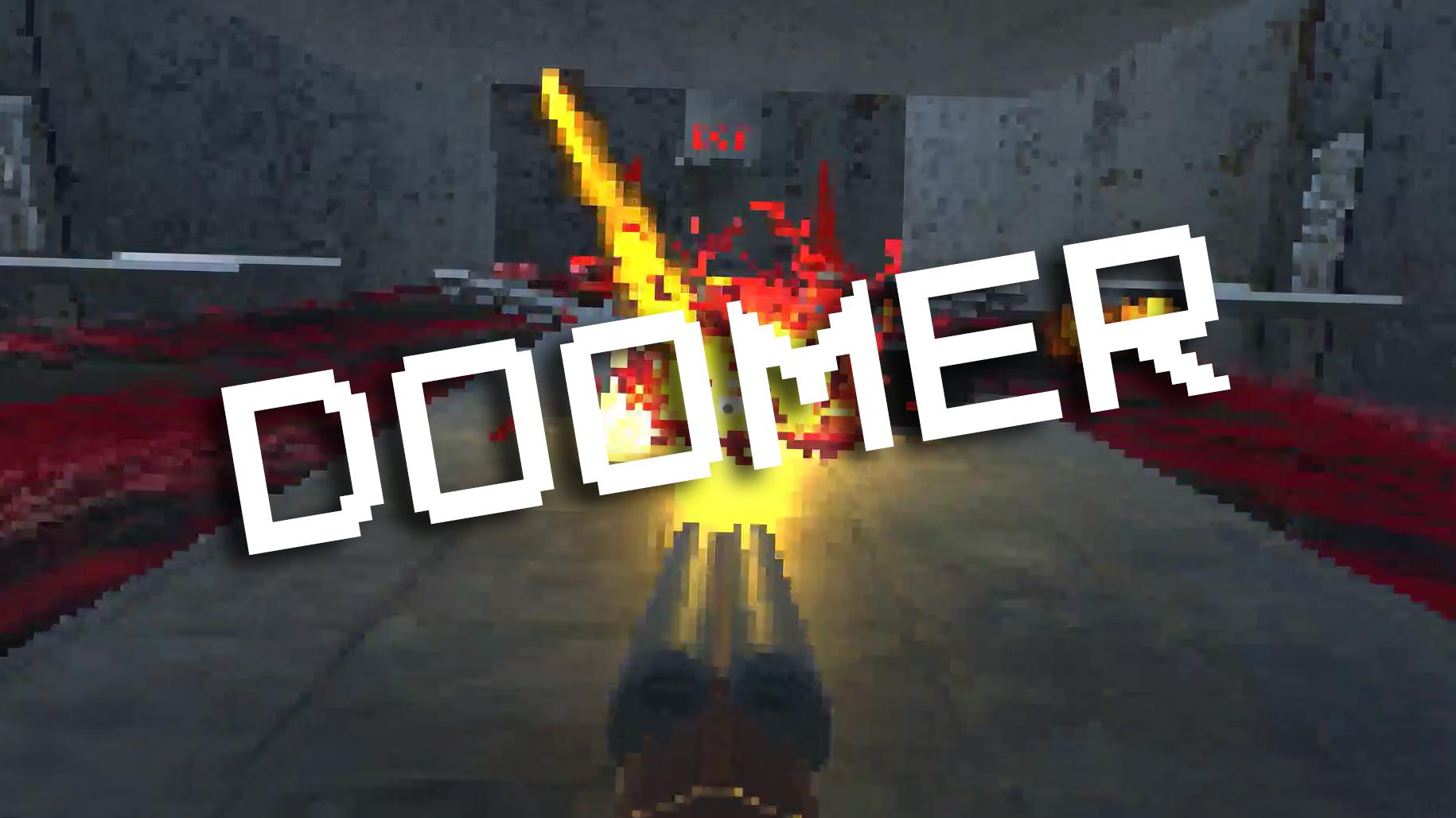 Jeu Doomer gratuit sur PC (Dématérialisé, itch.io)