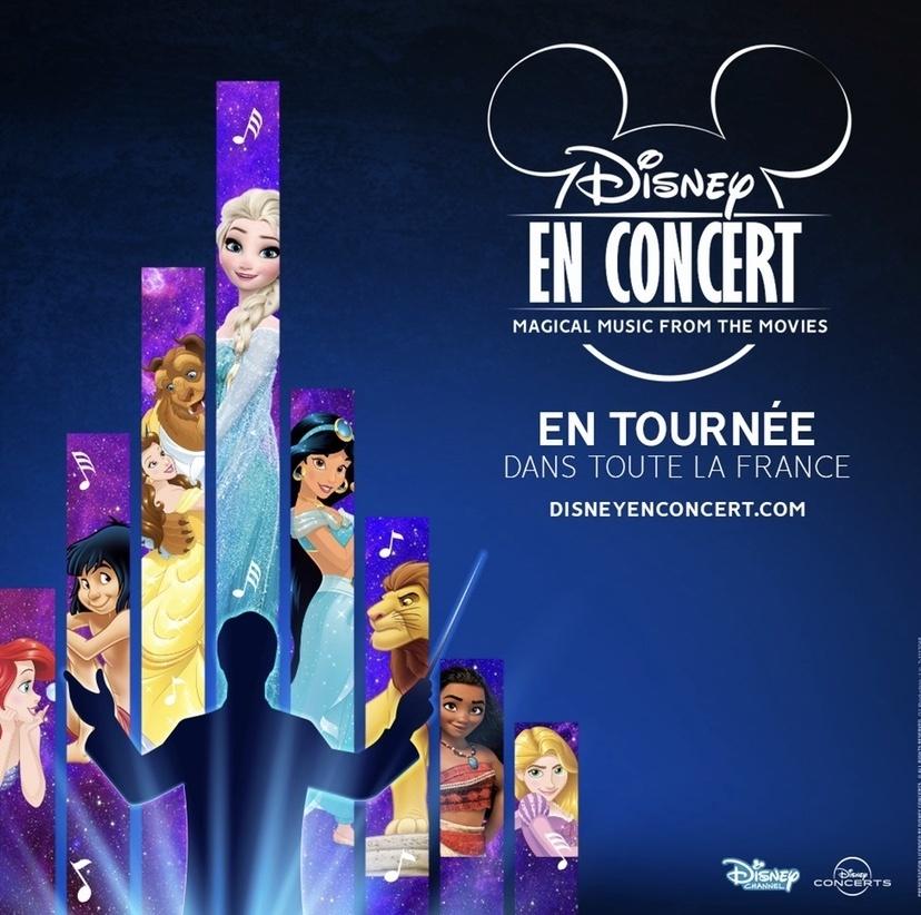 Jusqu'à 20% de réduction sur la tournée Disney concerts