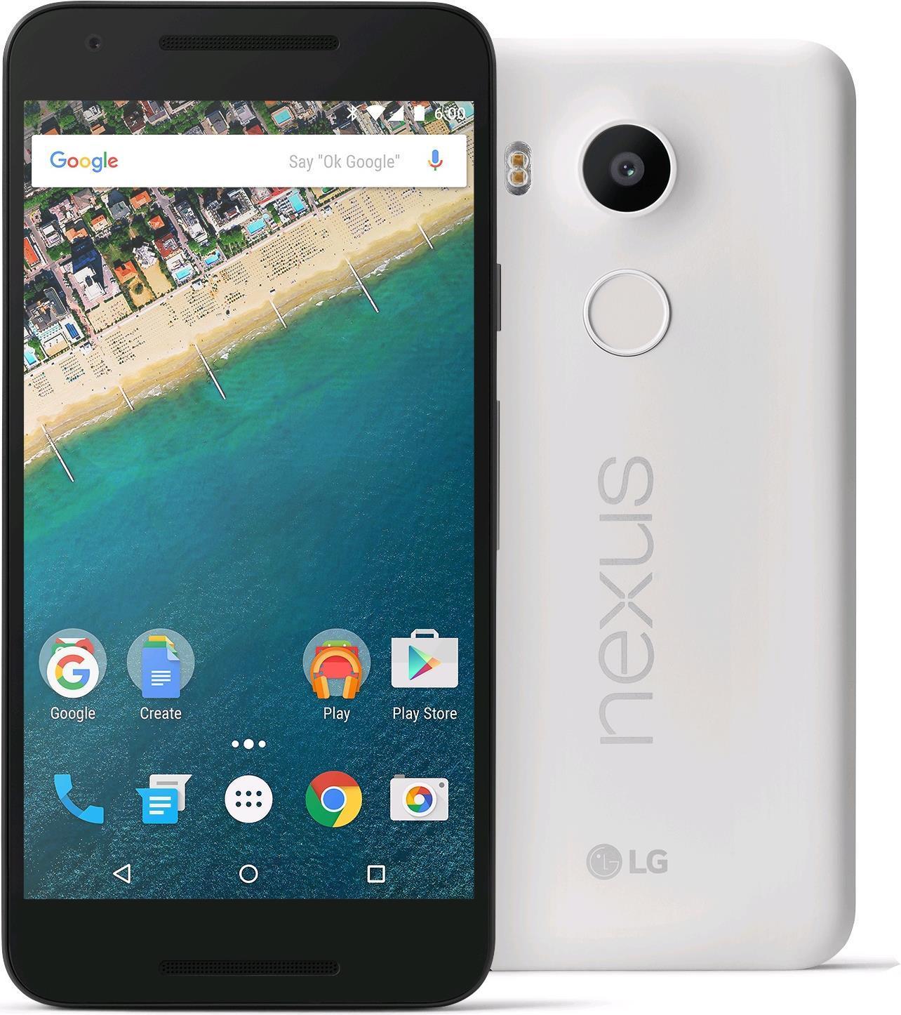 "Smartphone 5.2"" LG Nexus 5X 32 Go - Blanc"