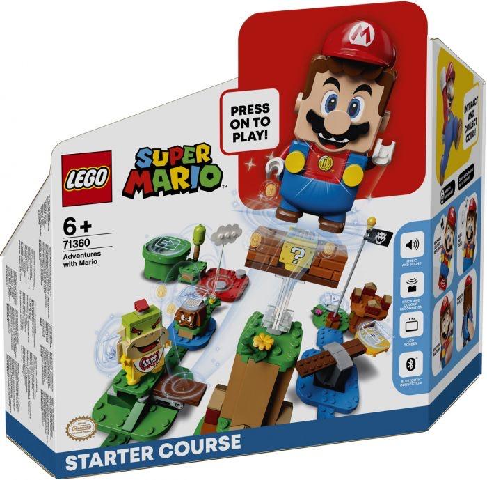 Pack démarrage jeu de construction Lego Mario n°71360 + Costume Mario à 1€
