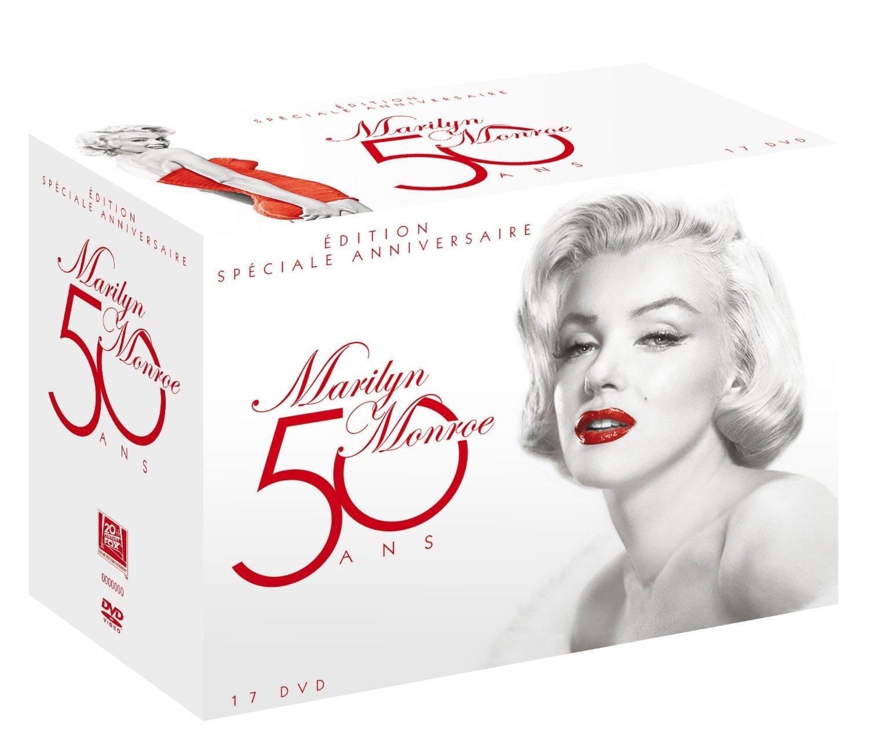 Coffret 17 films (DVD) - Edition Spéciale Anniversaire Marilyn Monroe 50 ans