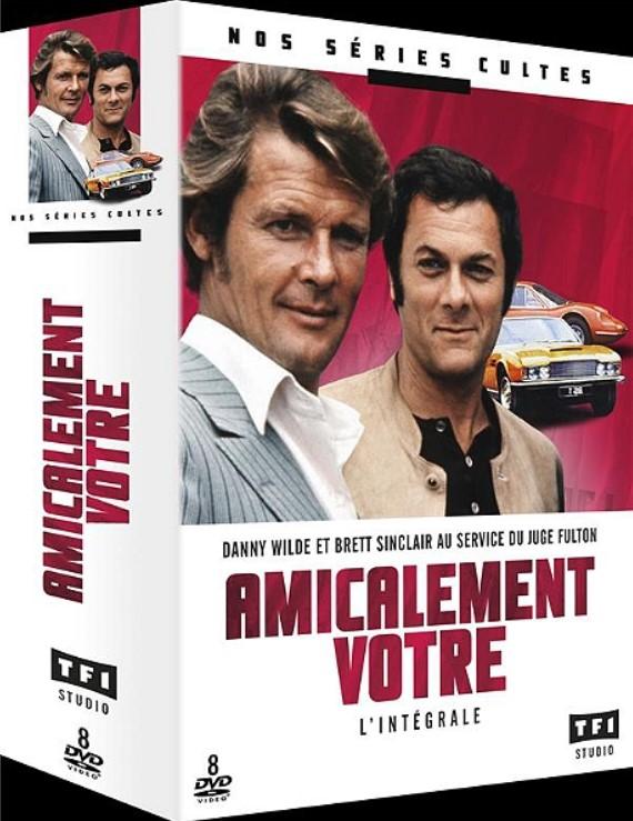 Coffret intégral DVD Amicalement votre