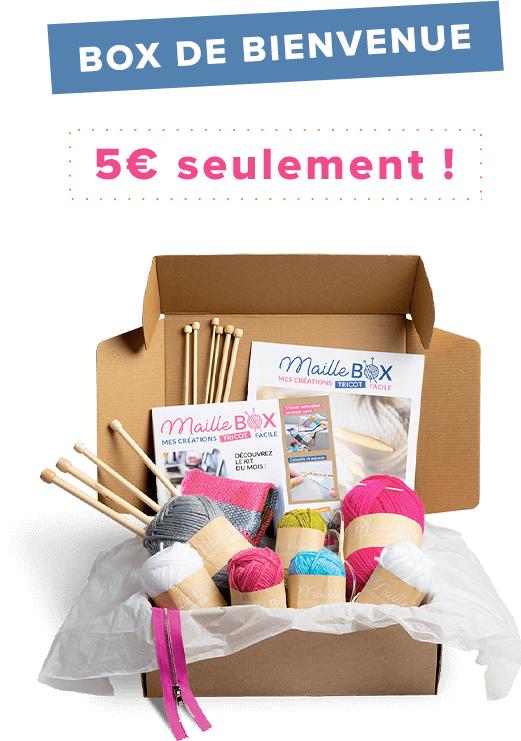 2 premières Maille Box à 5€ par mois (Sans Engagement)