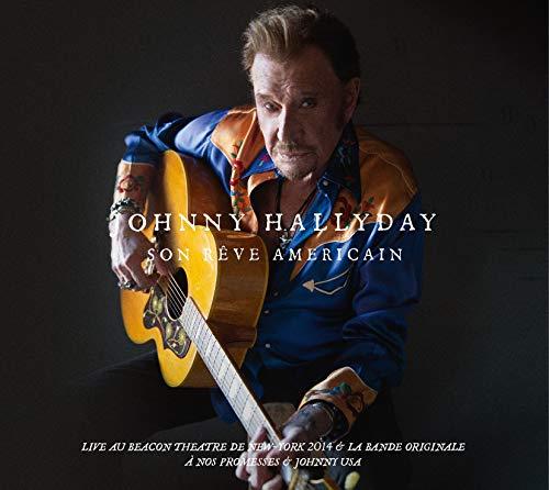 Coffret 3 CD + 2 DVD Johnny Hallyday Son Rêve Américain - Édition Limitée