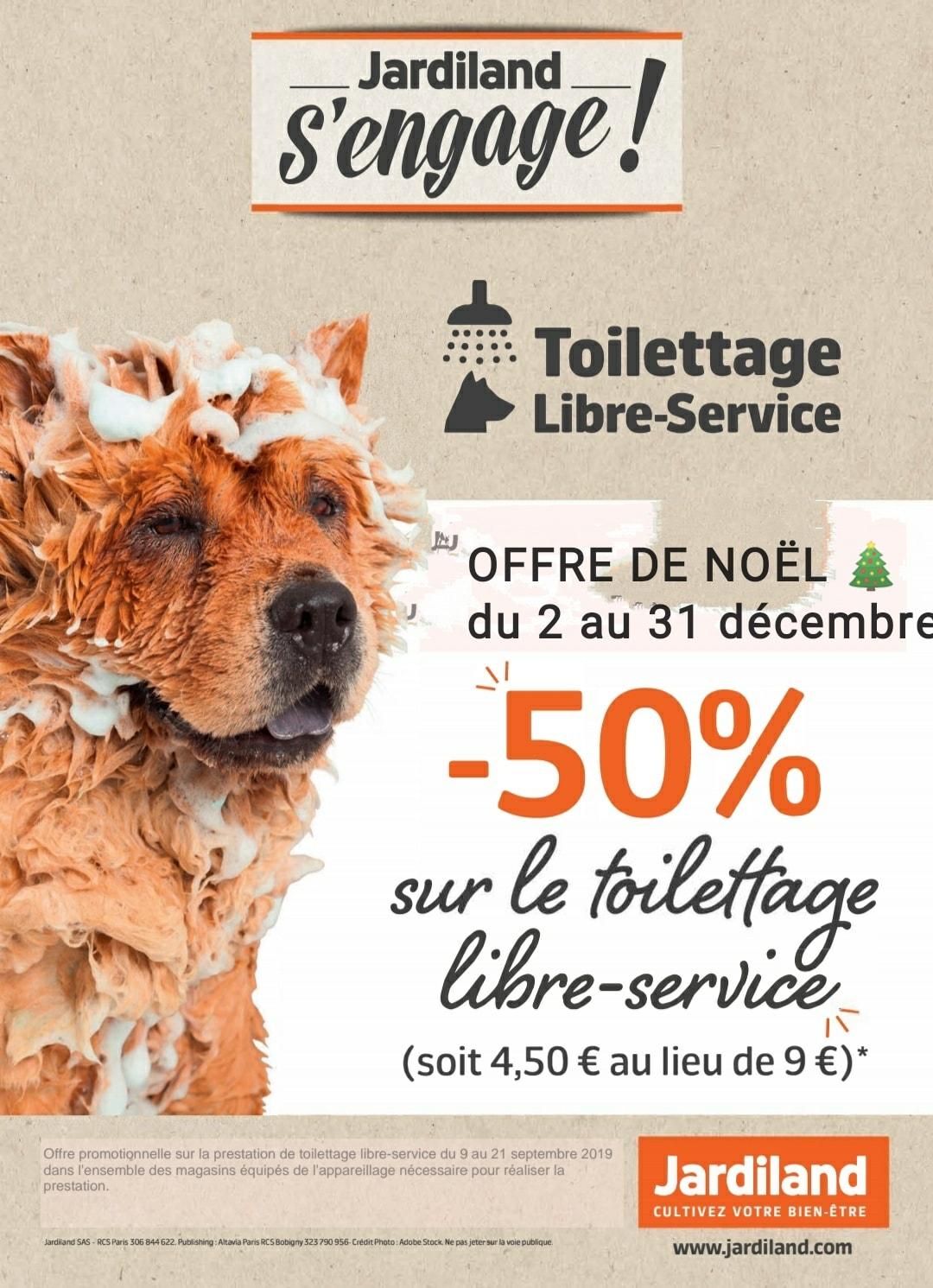 Toilettage en libre service - Calais (62)