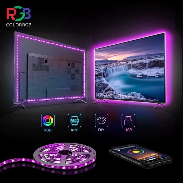 [Nouveaux clients] Ruban LED pour TV ColorRGB - RGB, 1 m, via USB