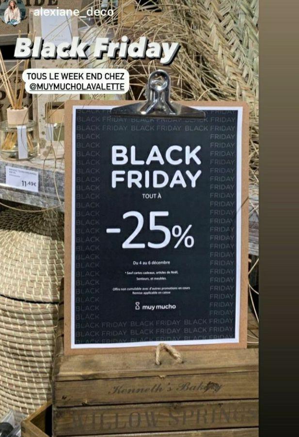 25% de réduction sur tout le magasin - Muy Mucho La Valette (83)