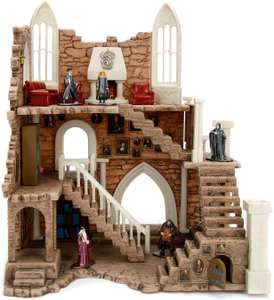 Playset Harry Potter - Tour de Gryffondor + 2 Figurines en Métal 4cm