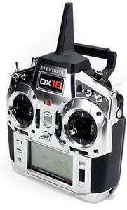 Radiocommande Spektrum DX18 (Mode 2)