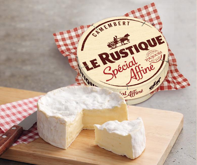 Lot de 3 Camemberts Le Rustique -- 3 x 250g